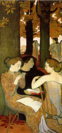 maurice denis muses 1893